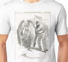 50 years of W G Grace punch cartoon 1898 Unisex T-Shirt