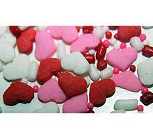 Valentine Sprinkles Photographic Print