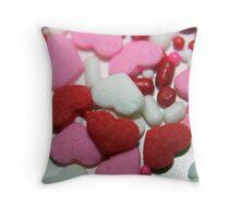 Valentine Sprinkles Throw Pillow