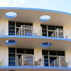 Miami Beach: Art Deco Blues by Kasia-D