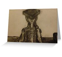 """The Lady Pirate"" Greeting Card"