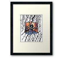 Escape (Vintage Iron On) Framed Print