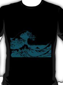 Blue Great Wave Mount Fuji Shirt T-Shirt