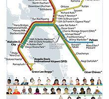 Decolonized Area Rapid Transit (DART) poster by Liusan