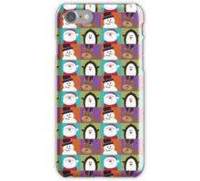 Christmas Friends iPhone Case/Skin