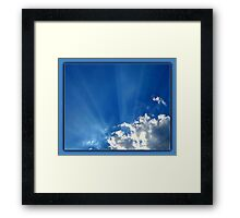©HCS Just A Touch Framed Print