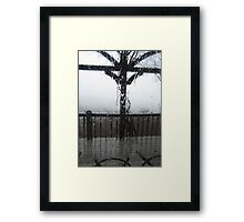 Crying Windows Framed Print