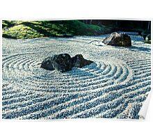 Zen Garden, Japan Poster