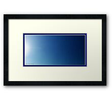 ©HCS In The Deep Blue Framed Print