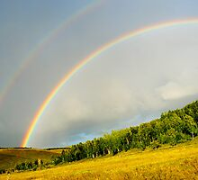 Double Rainbow by Lora Lee