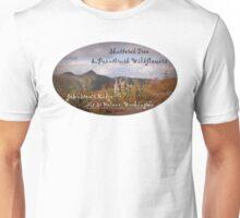 shattered tree & paintbrush wildflowers on Johnston's Ridge oval Unisex T-Shirt