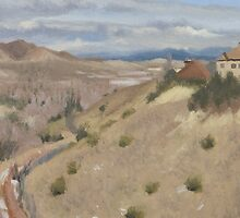 Westpoint Hill (Plein-air Study) by seidai