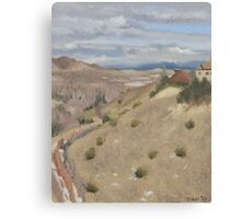 Westpoint Hill (Plein-air Study) Canvas Print
