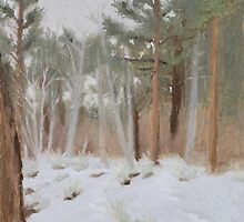Galena Creek Forest (Plein-air Study) by seidai