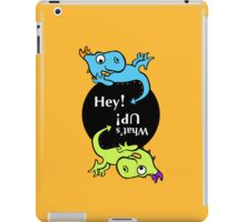 2 Dragon kids iPad Case/Skin