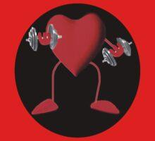 HEART PUMPIN  WEIGHTS TEE SHIRT by ✿✿ Bonita ✿✿ ђєℓℓσ