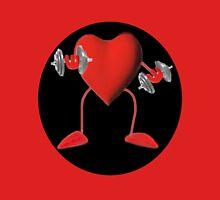 HEART PUMPIN  WEIGHTS TEE SHIRT Unisex T-Shirt