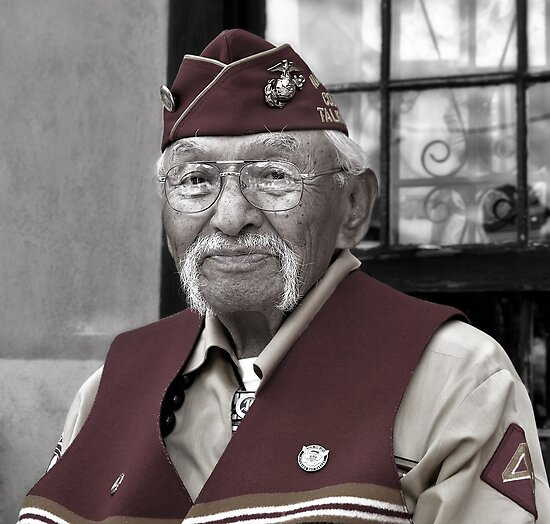 Albert Smith - Navajo Code Talkers by Alex Preiss