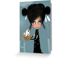 The Bird Whisperer Greeting Card