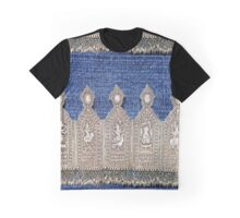 Denim with Sterling Trim Graphic T-Shirt
