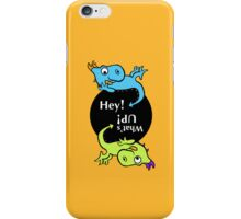 2 Dragon kids iPhone Case/Skin