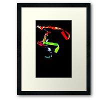 Ribbon Dance Abstract  Framed Print