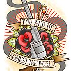 Against the World Valentine by JacksonDean