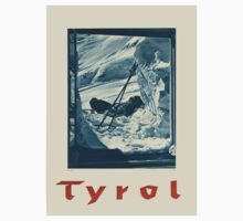 Vintage poster - Tyrol Kids Clothes