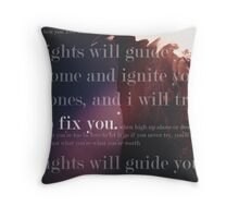 Fix You Print Throw Pillow