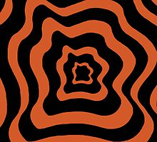 Drunken Target (Orange) by DCorreia247