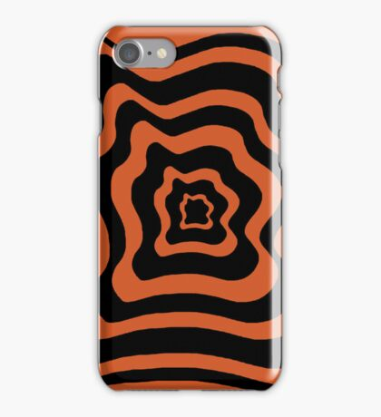 Drunken Target (Orange) iPhone Case/Skin