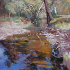 &#x27;Dabyminga Creek - Tallarook&#x27; by Lynda Robinson