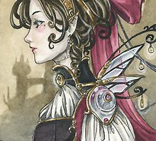 Steampunk Doll by meredithdillman