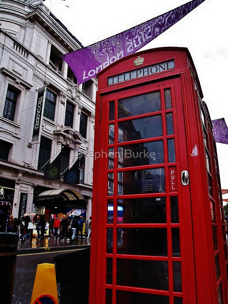Red Phone Booth by Stephen Burke