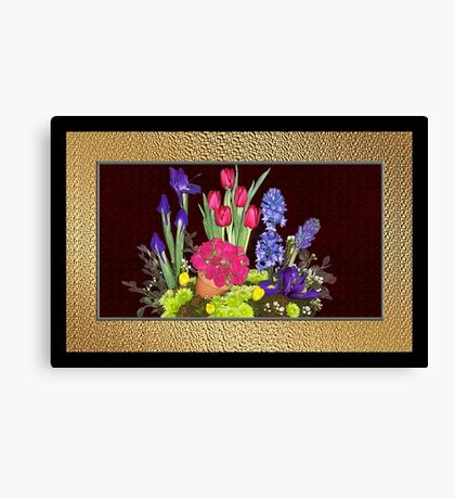 Flowers For Mum Canvas Print