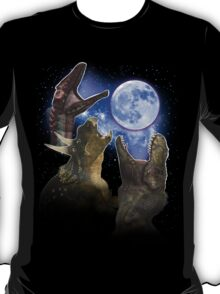 Exclusive Three Dinosaur Moon Shirt! T-Shirt