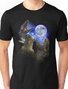 Exclusive Three Dinosaur Moon Shirt! Unisex T-Shirt