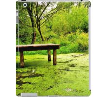 tranquil in green iPad Case/Skin