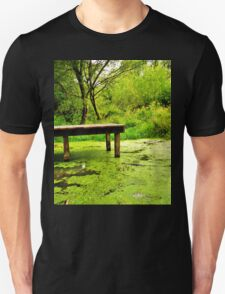 tranquil in green Unisex T-Shirt