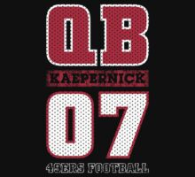San Francisco 49ers QB Colin Kaepernick #7 T-Shirt! by endlessimages