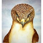 Watercolour Eagle by cmsdesign