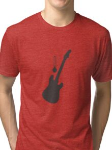 Guitar for Temperature Tri-blend T-Shirt