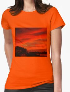 Safe in the harbor Womens Fitted T-Shirt