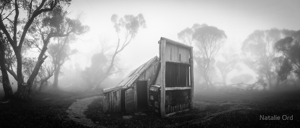 Wallaces Hut Panorama by Natalie Ord
