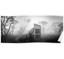 Wallaces Hut Panorama Poster