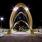 Seafarers Bridge, South Wharf - Melbourne by Patricia Gibson