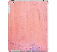 pink grungy wall in paris iPad Cases iPad Case/Skin