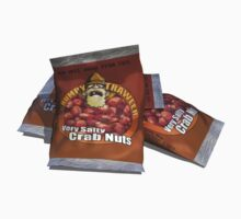 Grumpy Trawler Very Salty Crab Nuts Snack One Piece - Short Sleeve