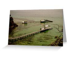 Sorrento Beach Boxes III, Mornington Peninsula, Victoria Australia Greeting Card
