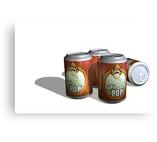 Refreshing Cans of Fishy Pop YUM Canvas Print
